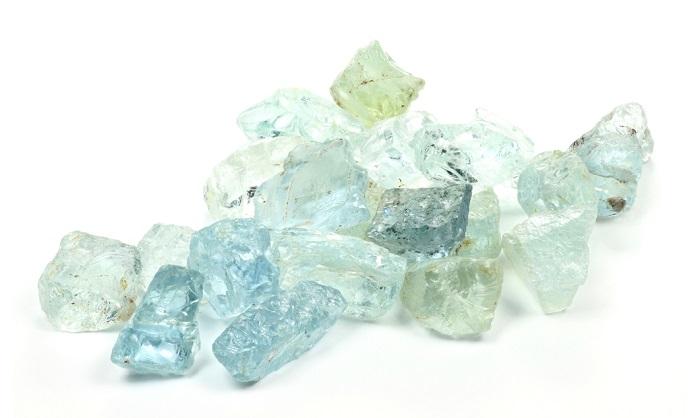 heart chakra Aquamarine