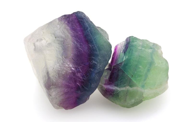 Crown Chakra stones Fluorite