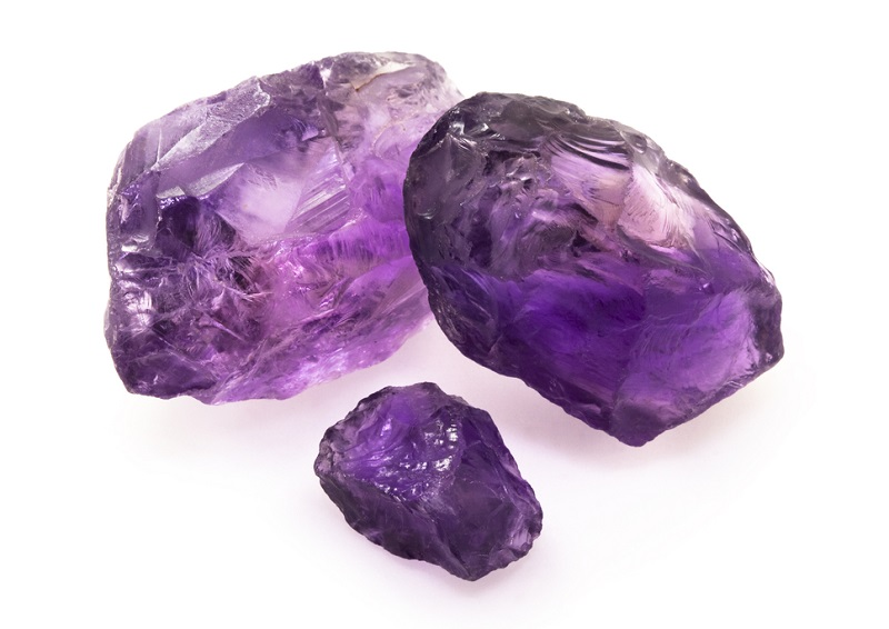 Crown Chakra stones amethyst
