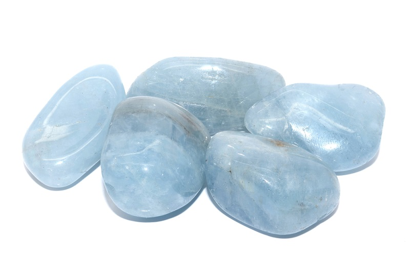 Throat Chakra stones Aquamarine