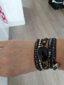 Black Onyx Root Chakra Bracelet photo review