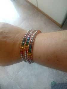 7 Color Crystal Chakra Bracelet photo review