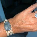 Labradorite Throat Chakra Bracelet photo review