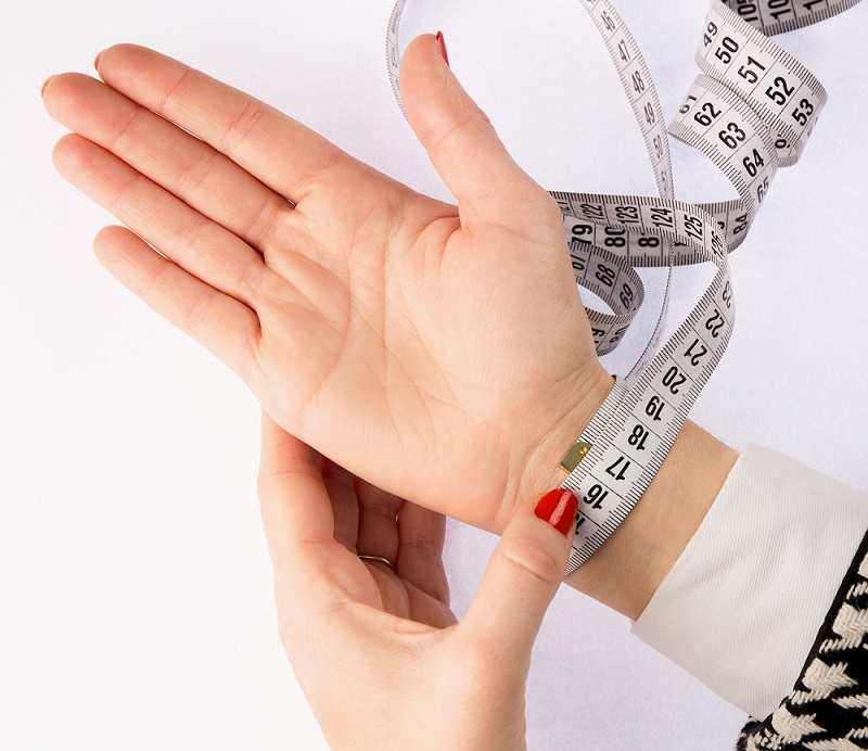 chakra bracelets measuring wrist