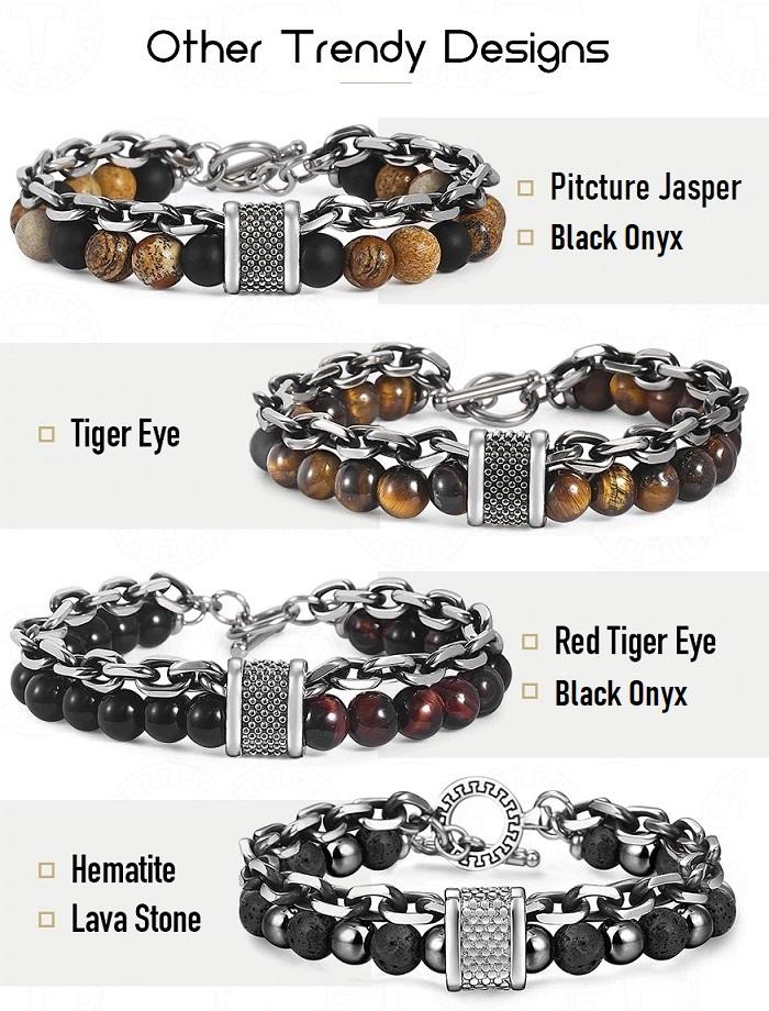 chakra bracelet for men style 3