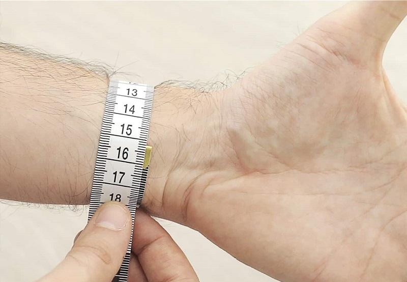 chakra bracelets measuring wrist man